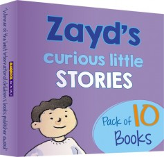 Zayd's Curious Little Stories - Pack of 10 Books