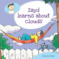 Zayd learns about clouds